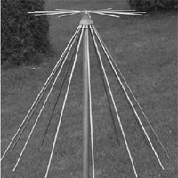 角锥天线及双锥天线